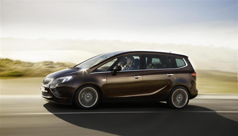 2011 Opel Zafira Tourer Concept Image Photo 2 Of 27