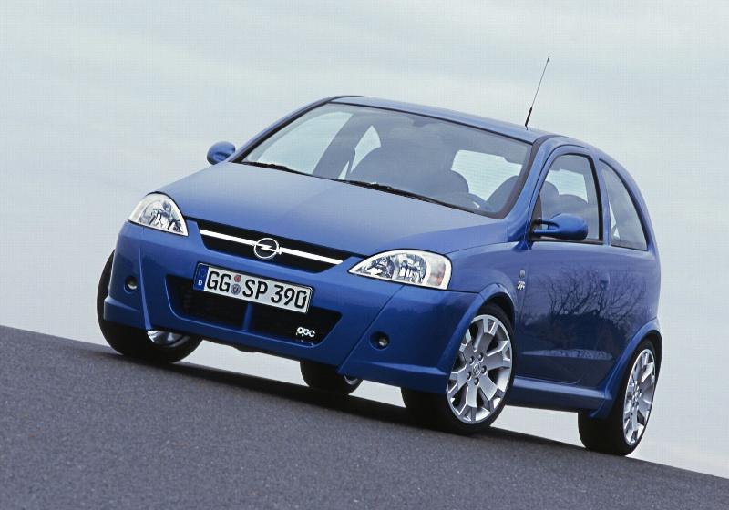 2007 Opel Corsa OPC
