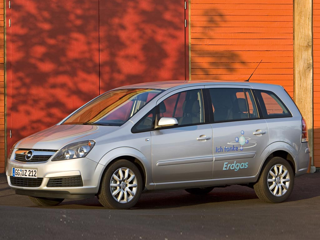 2005 opel zafira cng pictures history value research news. Black Bedroom Furniture Sets. Home Design Ideas