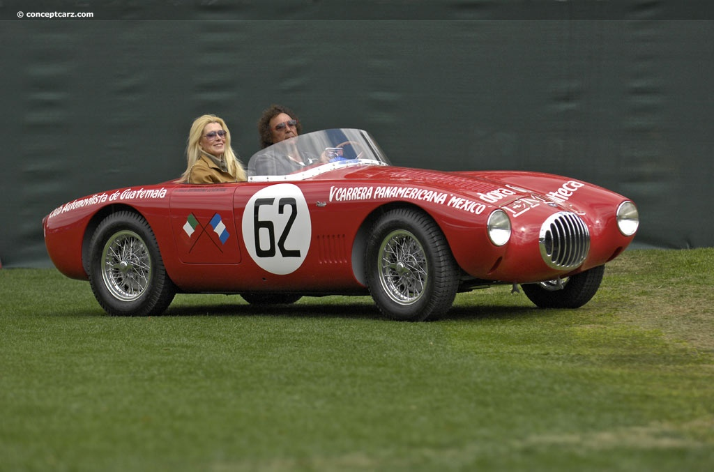 1954 Osca Mt4 1500 Moretti Image Chassis Number 1152