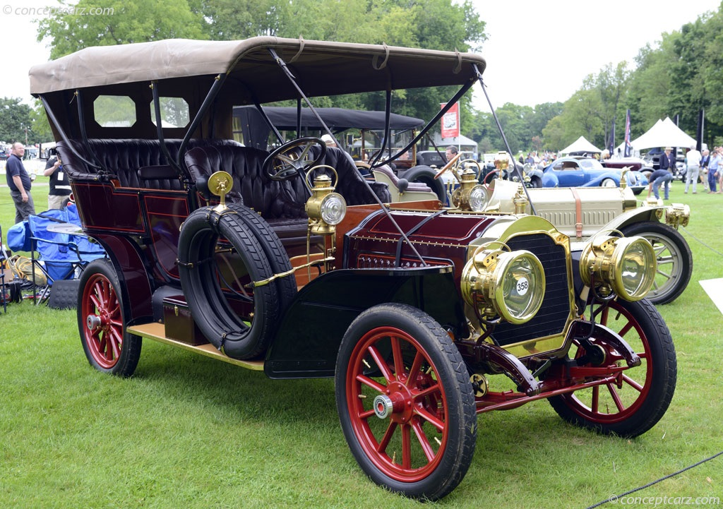 Concours D Elegance >> 1907 Packard Model 30 Image. Chassis number 3634. Photo 9 of 33