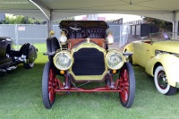 1907 Packard Model Thirty.  Chassis number 3634