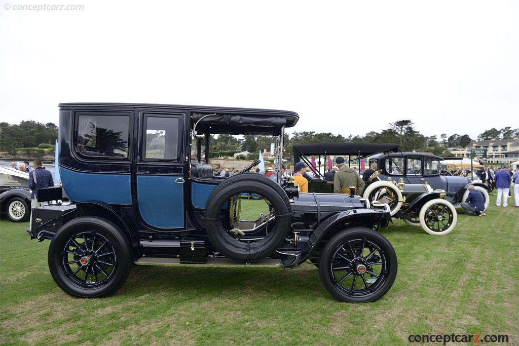 1910 Packard Model Thirty