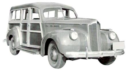 1941 Packard 110 Series 1900