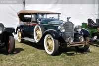 1928 Packard Model 533 Six.  Chassis number 125388