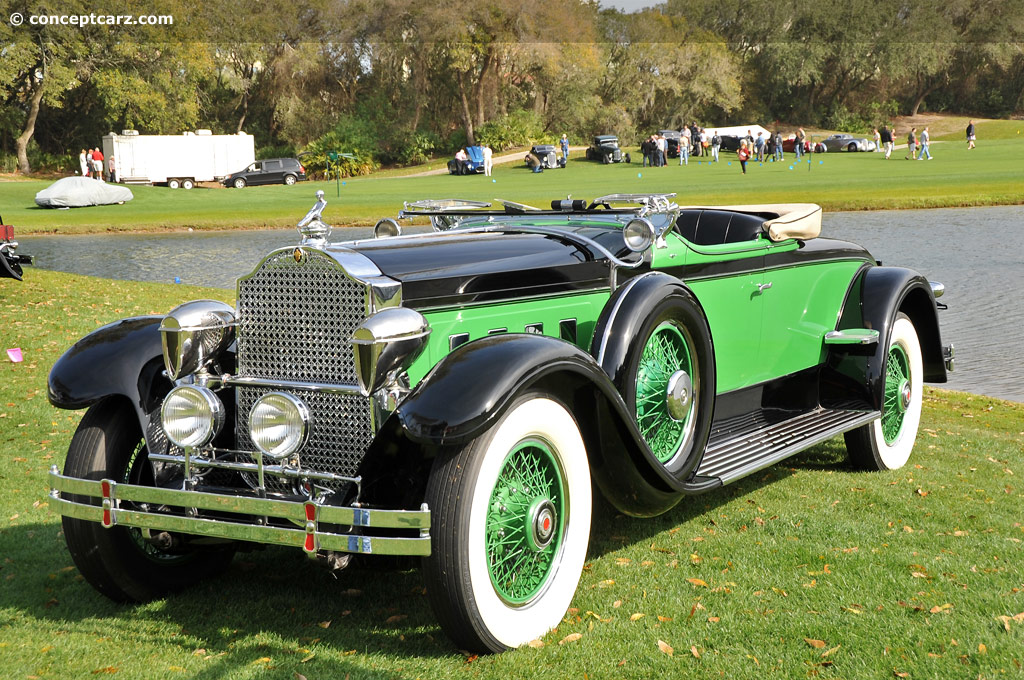 Auction Results and Sales Data for 1929 Packard 645 Deluxe Eight