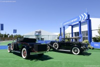 1929 Packard 640 Custom Eight.  Chassis number 173884