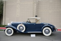 1930 Packard Series 734 Eight.  Chassis number 184012