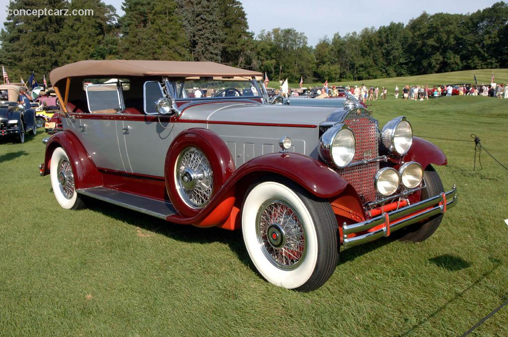 Auction Results And Sales Data For 1930 Packard 745 Deluxe