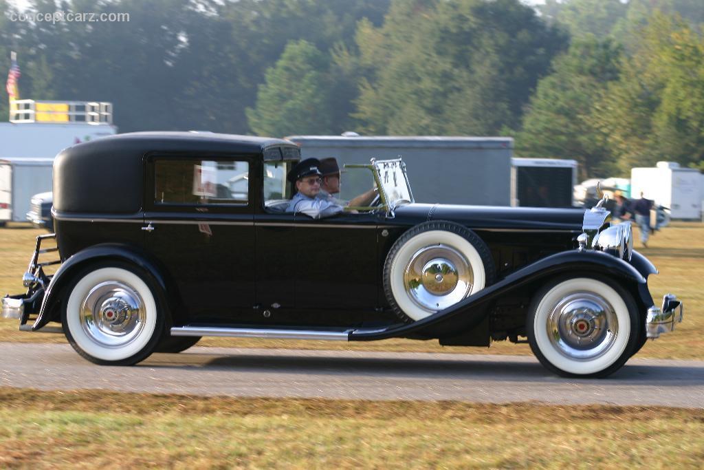 1931 Packard Model 840 Deluxe Eight Image
