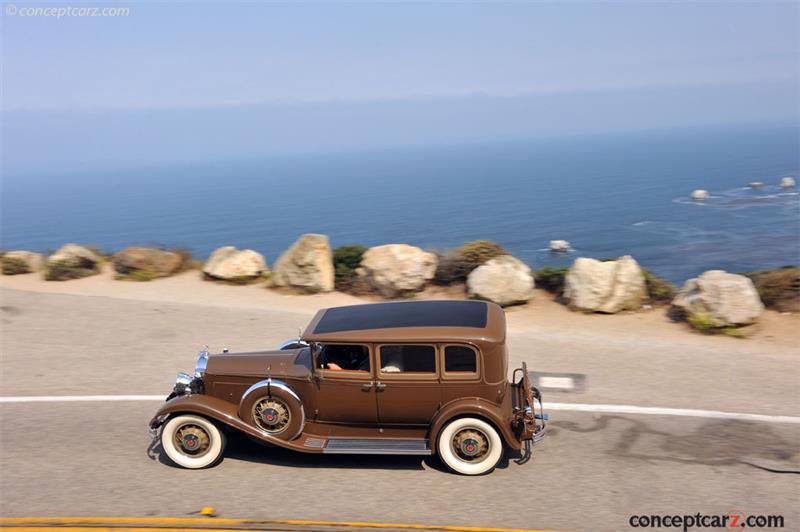 1931 packard model 840 deluxe eight vehicle information