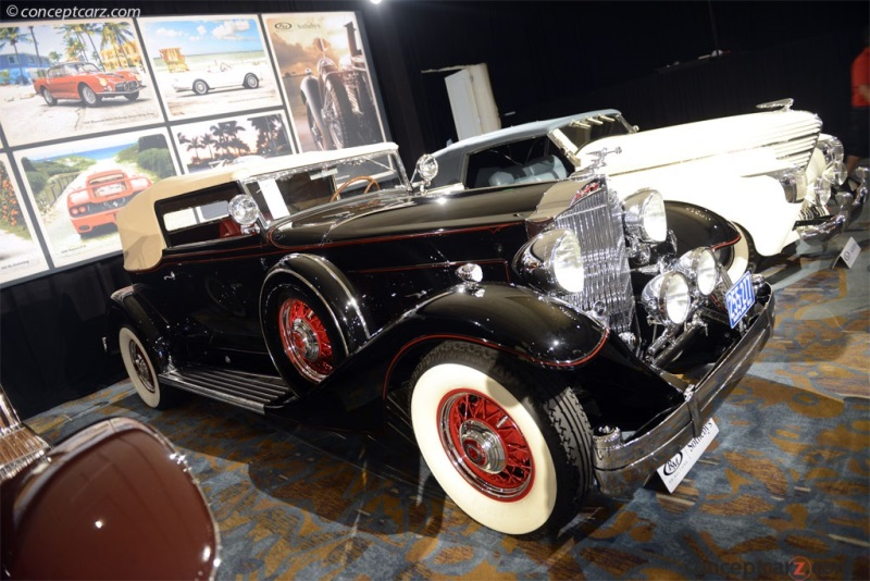 1933 Packard 1005 Twelve History Pictures Value Auction Sales