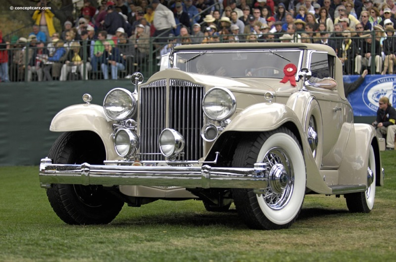 1933 Packard 1005 Twelve Chassis Information