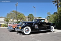 1933 Packard 1005 Twelve.  Chassis number 901454