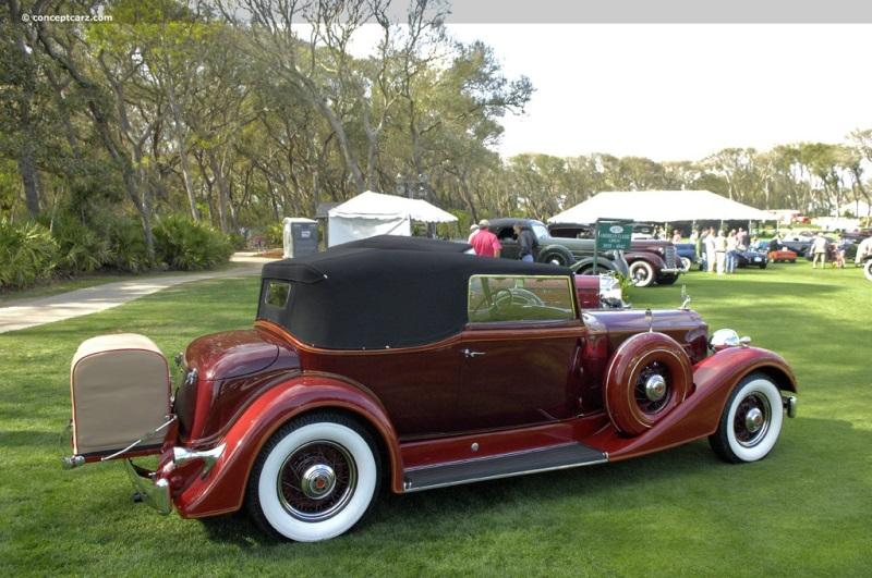 1933 Packard 1004 Super Eight Image