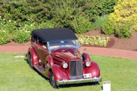 1935 Packard Twelve.  Chassis number 821-202