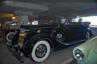 1936 Packard Model 1407 Twelve.  Chassis number 904299