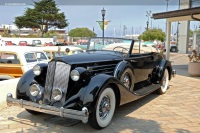 1936 Packard Model 1407 Twelve.  Chassis number 93923220867S112539
