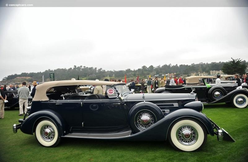 1936 Packard Model 1406