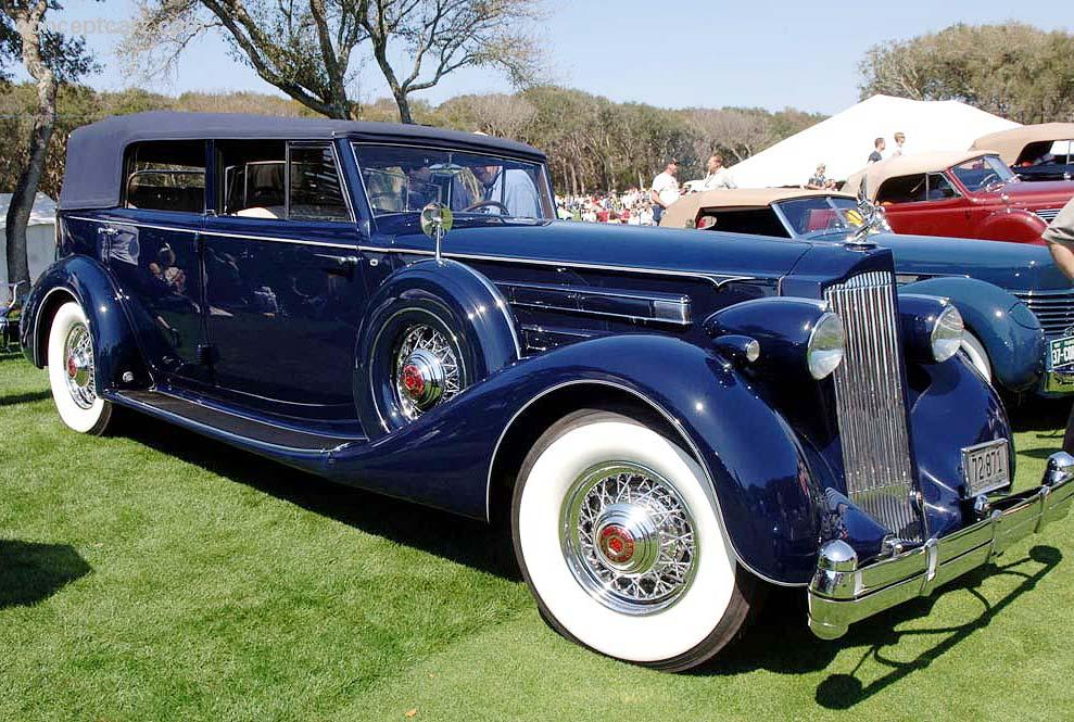 Hershey Car Show >> 1936 Packard Model 1408 Image. Photo 7 of 19