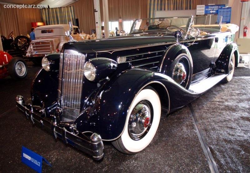 1936 Packard Model 1407 Twelve