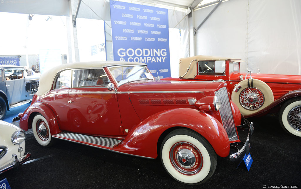 Auction Results and Sales Data for 1937 Packard 115-C Six