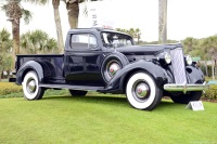 1937 Packard 120.  Chassis number 1090-1260