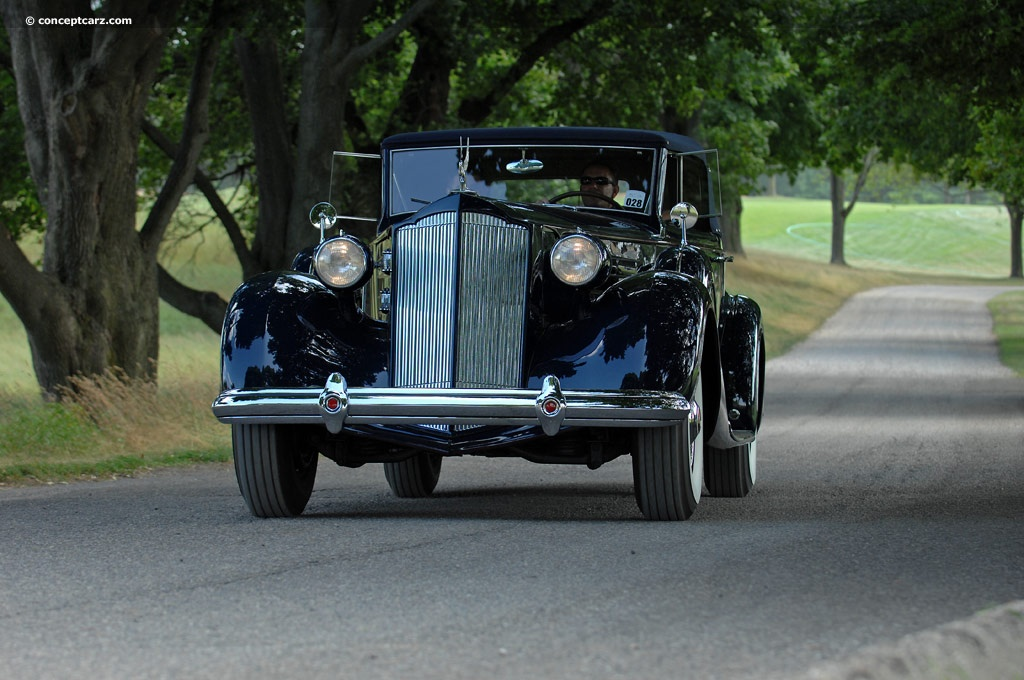 Auction Results and Sales Data for 1937 Packard 1507 Twelve