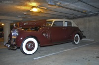 1938 Packard 1608 Twelve.  Chassis number 1608-2007