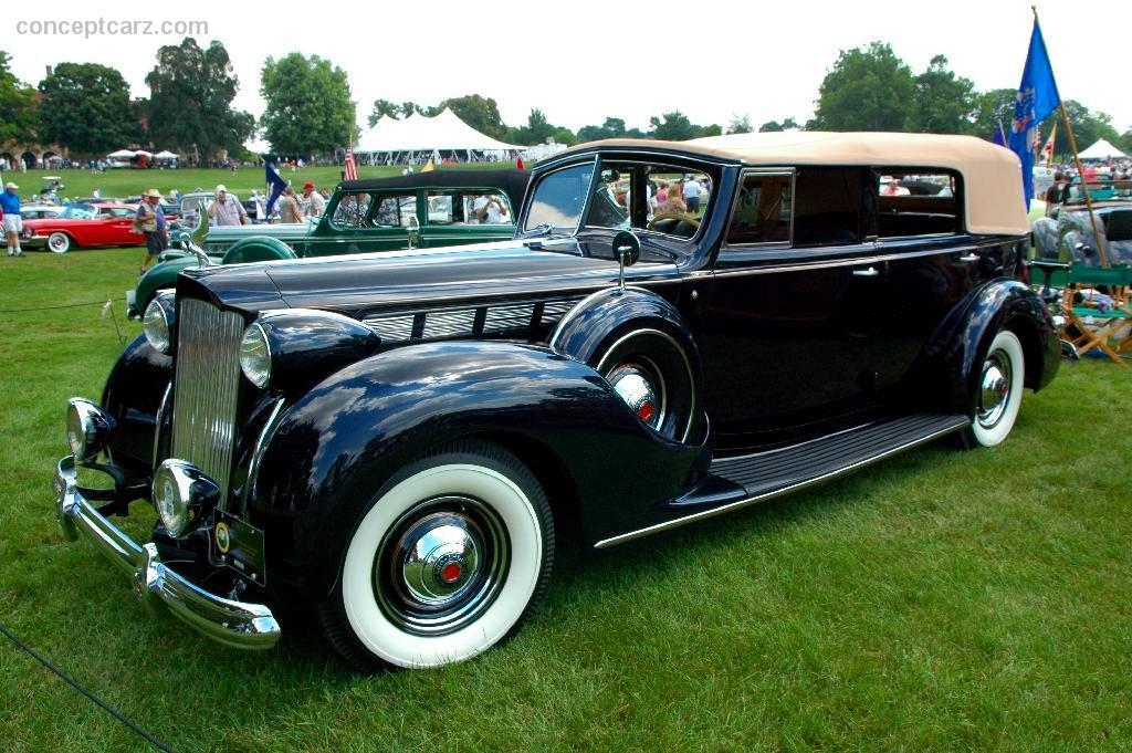 1938 Packard 1605 Super Eight Image