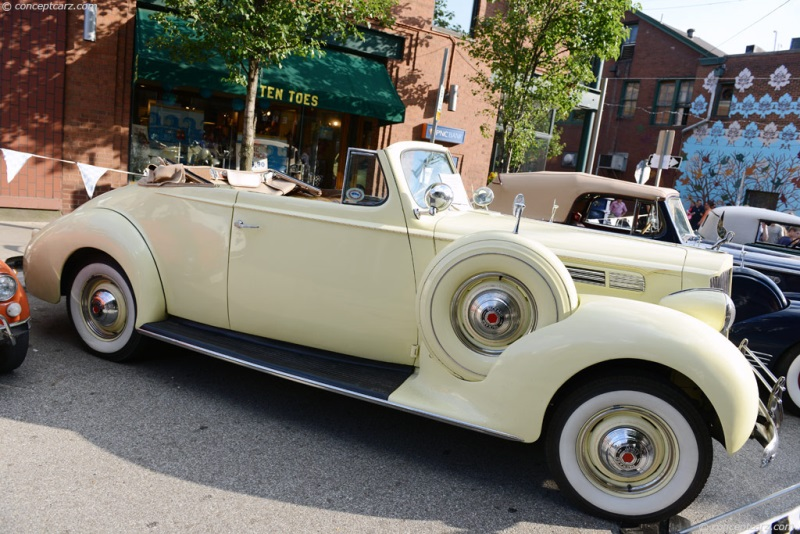1939 Packard 120 chassis information