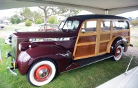 1940 Packard 110.  Chassis number 13832146