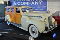 1940 Packard Super 8 160.  Chassis number 1372-3281
