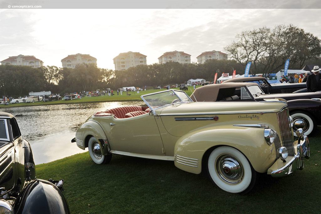 1941 Packard Super 8 180 At The 17th Annual Amelia Island