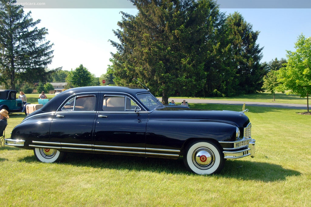 1949 Packard Custom Eight History Pictures Value Auction Sales Research And News