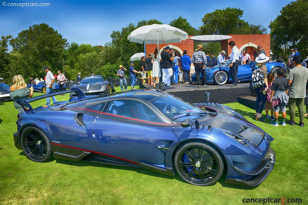 Auction Results And Sales Data For 2017 Pagani Huayra Bc