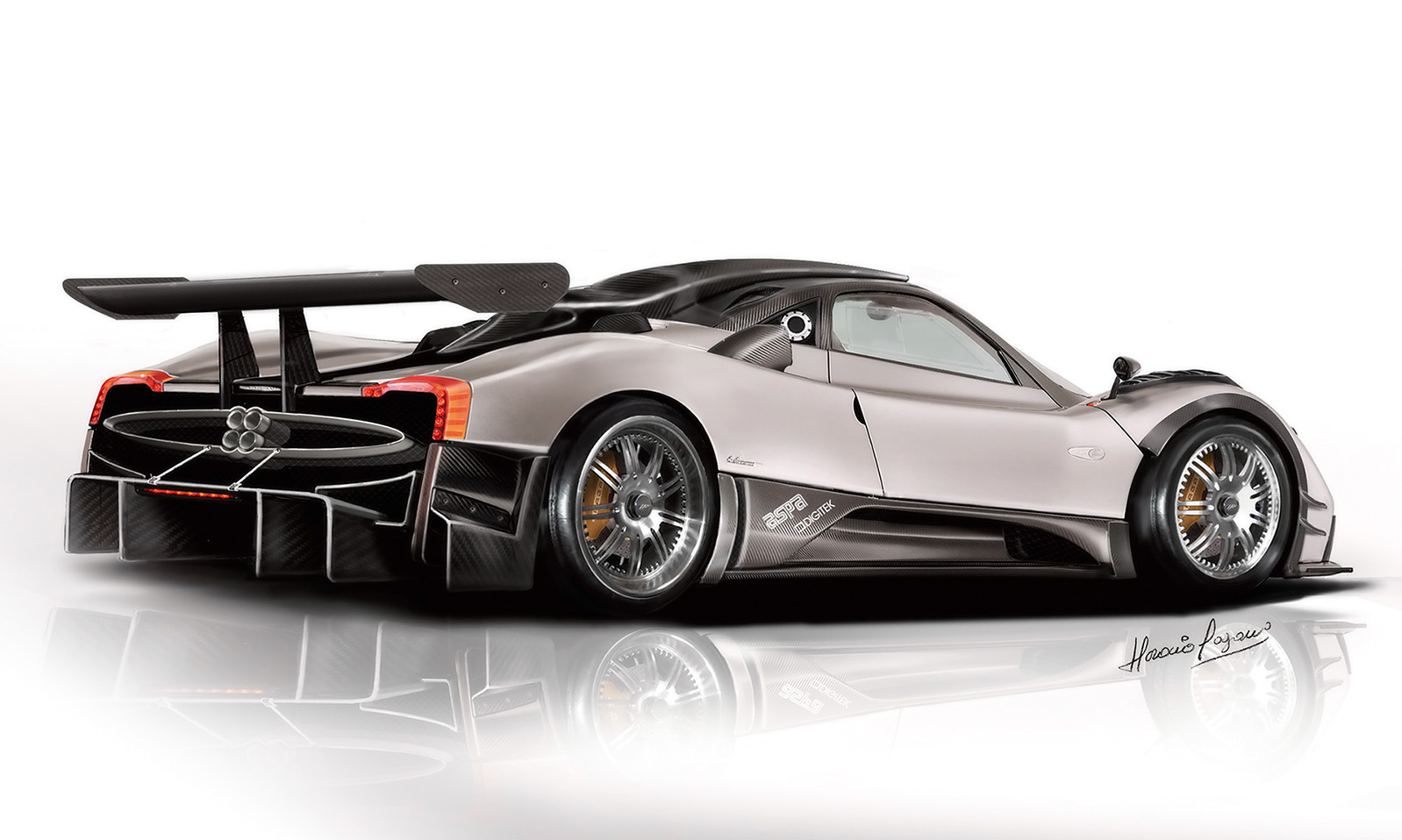 2007 Pagani Zonda C12 R Desktop Wallpaper and High Resolution Images