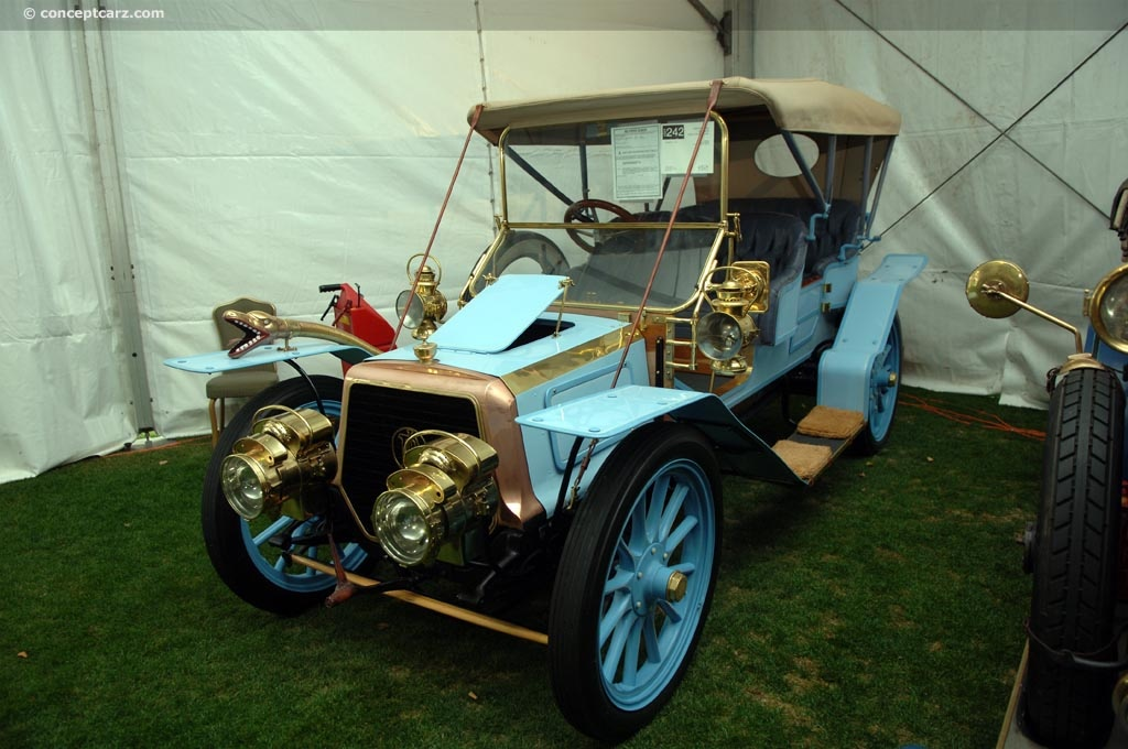 1906 Panhard 25/30.  Chassis number S4R1