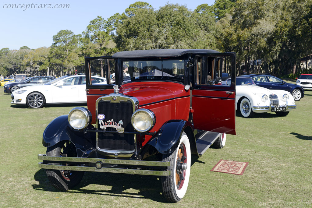 1927 Peerless Model 6 90 Image Chassis Number 8900603