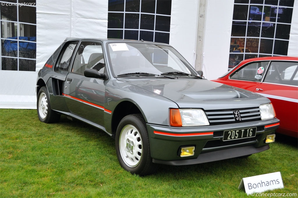 auction results and sales data for 1984 peugeot 205 turbo 16. Black Bedroom Furniture Sets. Home Design Ideas