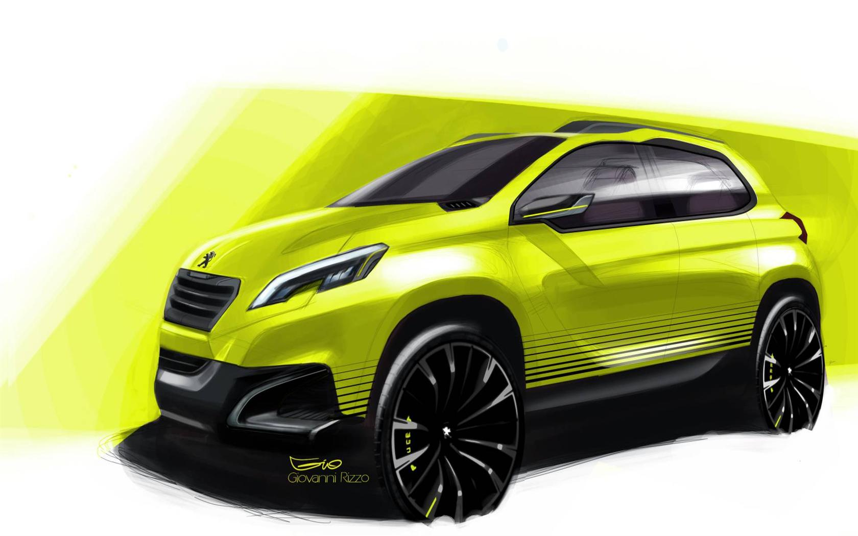 peugeot suv concept peugeot quartz concept could hint at new suv peugeot reveals quartz. Black Bedroom Furniture Sets. Home Design Ideas