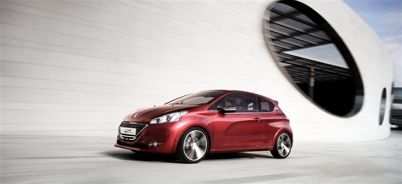 2012 Peugeot 208 Gti Concept News And Information Research And Pricing