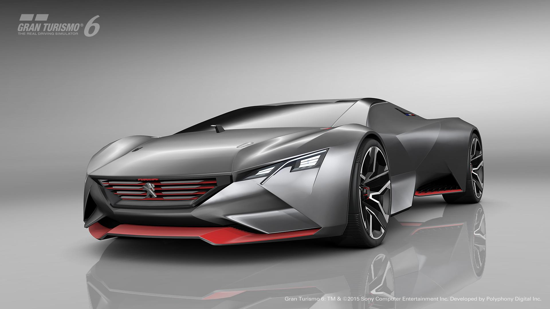 2015 peugeot vision gran turismo concept news and information research and pricing. Black Bedroom Furniture Sets. Home Design Ideas