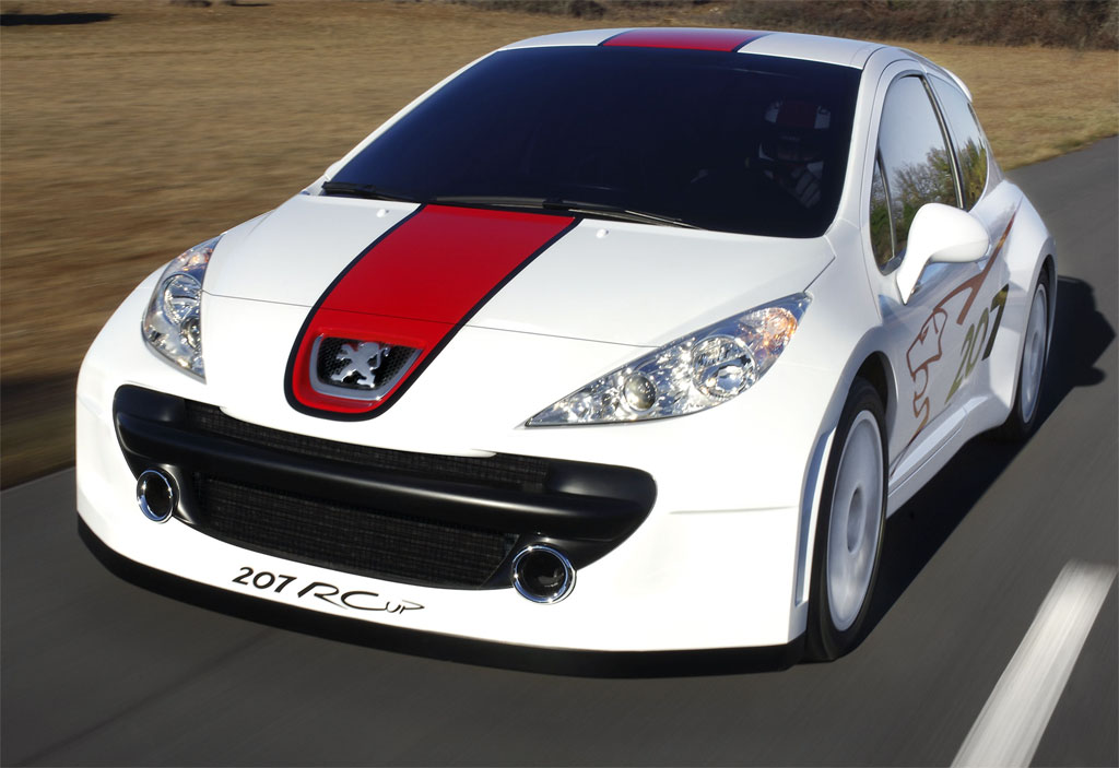2007 Peugeot 207 Rcup Concept Wallpaper And Image Gallery