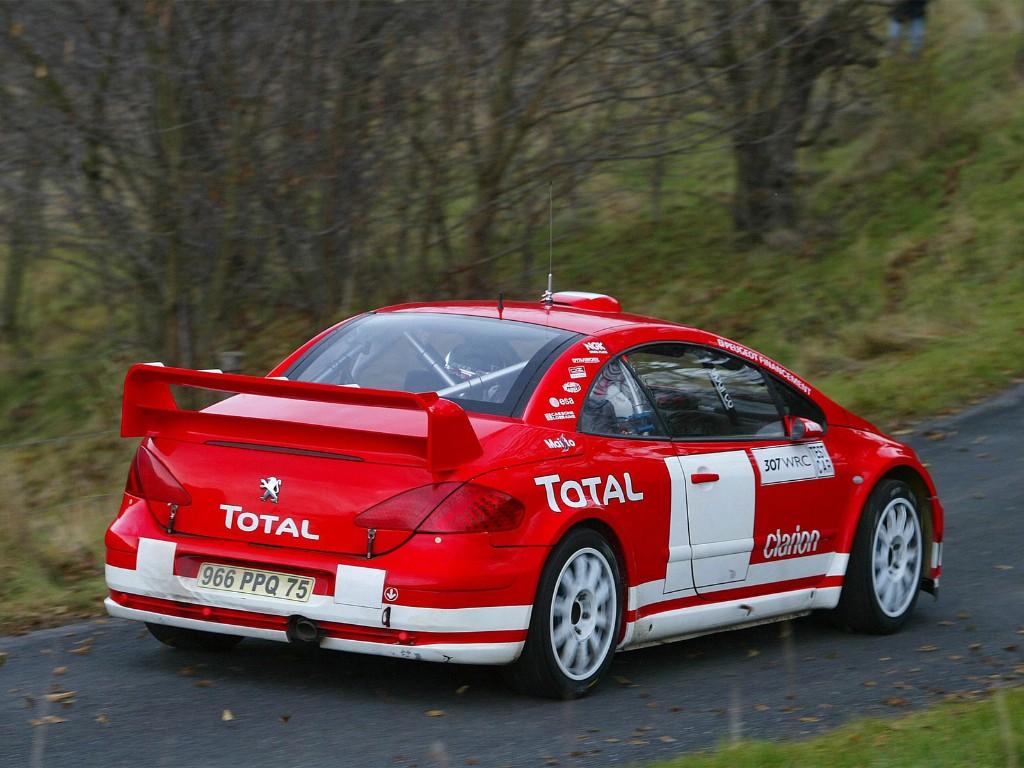 2005 Peugeot 307 Wrc Image Photo 3 Of 5