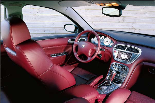 2001 peugeot 607 pescarolo image for Interieur 607