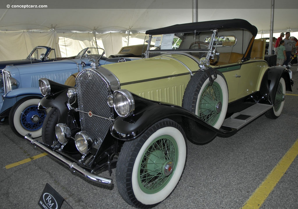Auction results and data for 1928 pierce arrow model 81 Motor city car auction