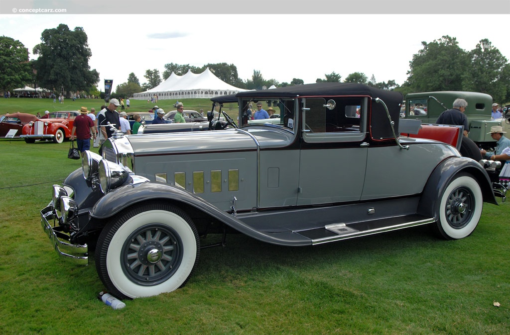 Muscle Cars List >> 1929 Pierce-Arrow Model 126 History, Pictures, Value, Auction Sales, Research and News