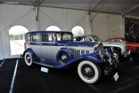 1932 Pierce Arrow Model 53.  Chassis number 2050009