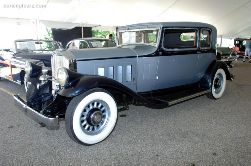 Chassis 1050728. 1932 Pierce-Arrow Model 54 chassis information